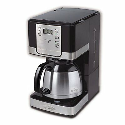 Mr. Coffee Advanced Cook 8-Cup Programmable Coffee Maker with Thermal Carafe,