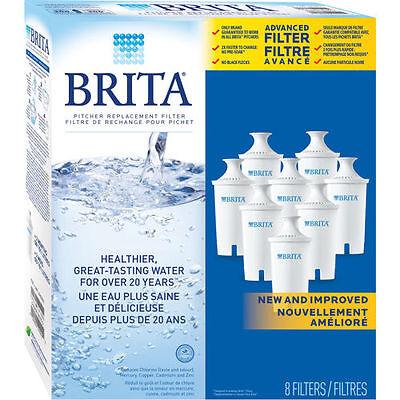 16-Stall Brita Pitcher Replacement Water Filters - Brita Filters