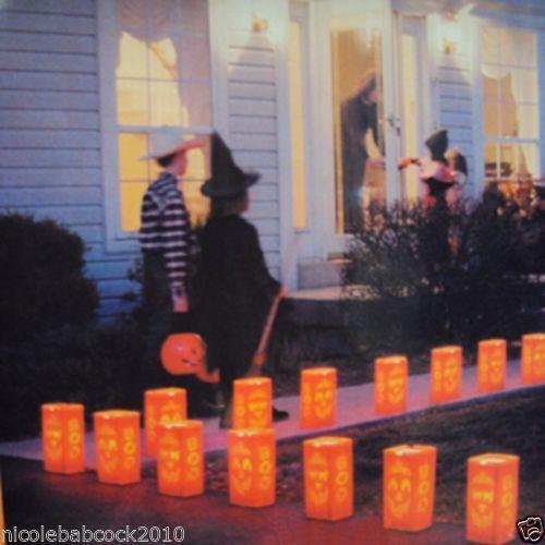 Vintage Halloween Lights