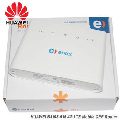 Huawei B310s-518 4G LTE FDD Wireless WiFi Router 150Mbp Broadband Modem Unlocked