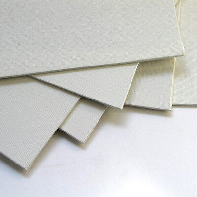 Economy Canvas Panels 8X10 Box of 50 Bulk Discount White Acid Free Artist Canvas - Bulk Canvas Panels