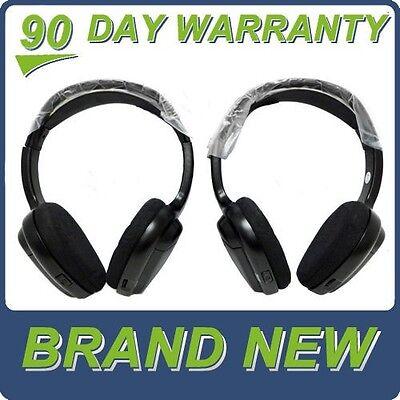 NEW NISSAN INFINITI Wireless Headphones Headsets 02 03 04 05 06 07 08 09 10 OEM