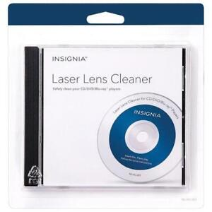 Insignia NS-HCL303-C CD/DVD/Blu-ray Laser Lens Cleaner (New other)
