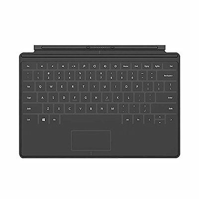New Microsoft Surface Touch Cover Keyboard BLACK for RT, RT 2, PRO1 & PRO2
