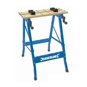 Supporto tavolo banco da lavoro pieghevole per falegname 100kg ebay - Tavolo da lavoro pieghevole ...