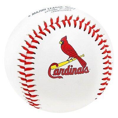 Rawlings St Louis - ST. LOUIS CARDINALS ~ (1) Official Team Logo Rawlings Baseball ~ New!
