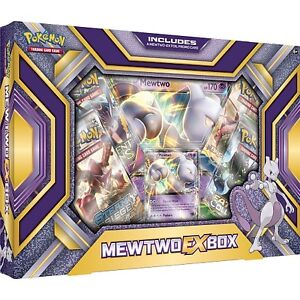 Pokemon Mewtwo EX Box