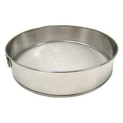 """Scandicrafts 10"""" Diameter Fine Mesh Flour Sifter Stainless Steel -Strainer Sieve"""