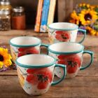Ceramic Floral Coffee Cups
