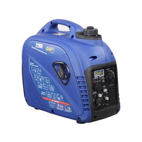 Quipall 2,200 Watt Gas Portable Inverter Generator (carb) 2200i New