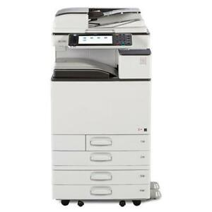 REPOSSESSED Ricoh MP C3003 Color Multifunction Photocopier 11x17 12x18 - BUY LEASE RENT WARRANTY