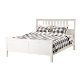 Used but in good condition - double bed frame including mattress