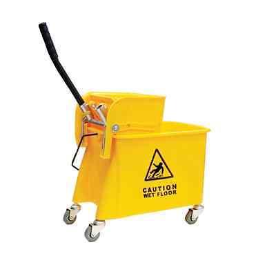 24 Quart Yellow Mop Bucket & Wringer