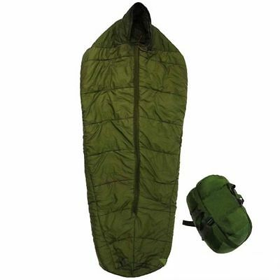 Genuine British Army Arctic sleeping Bag - With Stuff Sack - Large
