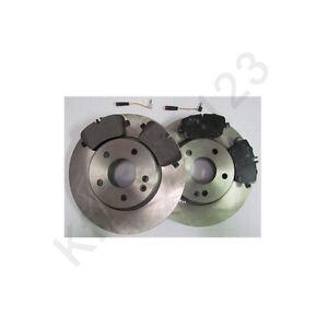 Brake discs brake pads front mercedes w203 c class ebay for Mercedes benz c300 brake rotors