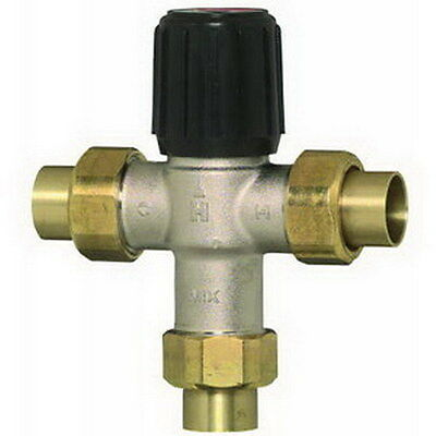 Honeywell Am-1 Series S Model Sparco Thermostatic Mixing Valve 34 Union Sweat