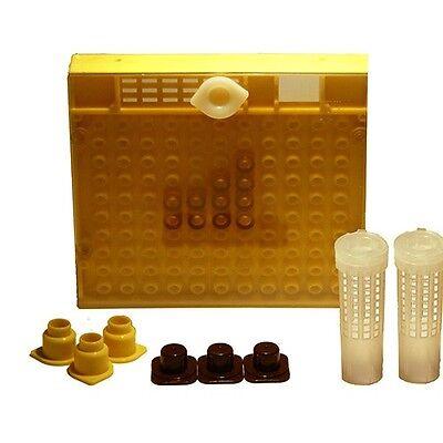 Komplettsystem nach Nicot, Zuchtwabe, Cupularve, Zuchtkassette, Königinnenzucht