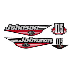 2 X Johnson Outboard Motors,115HP and a 10HP Pkg Deal