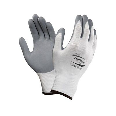 Ansell Hyflex Foam Nitrile Coated Palm Gloves 11 800 Size 8 3 Pair
