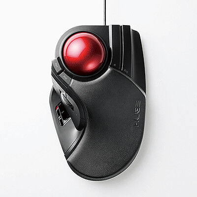 OFFICIAL Elecom Trackball mouse Large M-HT1URBK airmail with tracking