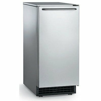 Scotsman Cu50ga-1 65lb Commercial Gourmet Cube Ice Machine W Gravity Drain