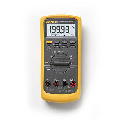 Fluke 87-v True-rms Industrial Digital Multimeter With Temperature