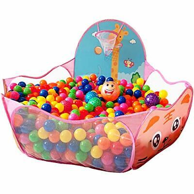 KingBee Ball Pit Pop Up Children Play Tent Ocean Pool Baby Toddler Playpen wi...