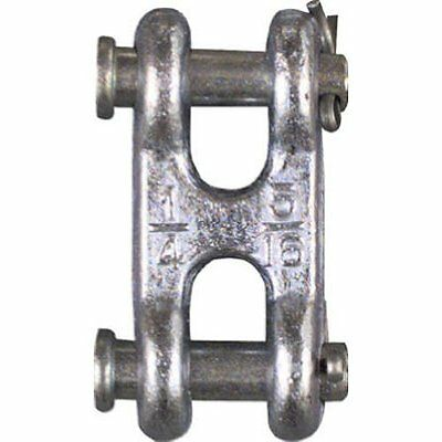 Stanley National Hardware 3248bc 14 516 Zinc Plated Double Clevis Link