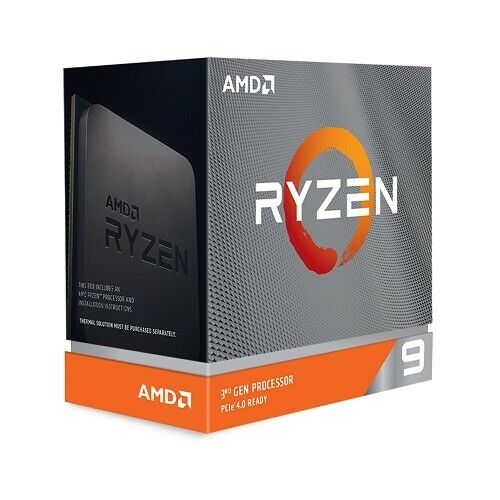 AMD Ryzen 9 3900XT Unlocked Desktop Processor without cooler
