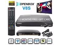 TV BOX- FREE VIEW -- ALL CHANNELS-- 12 MONTHS-- SPORTS-PPV- ASIAN CHANNELS-