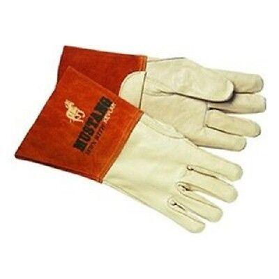 12pr Mcr Safety 4940s Mustang Premium Grain Cowhide Migtig Welder Gloves Small