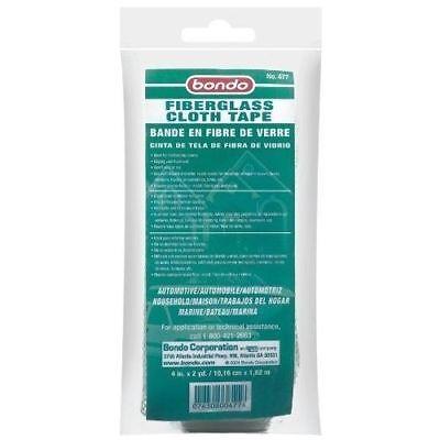 3m Bondo 477 Fiberglass 4 Inch Cloth Tape 2-pack