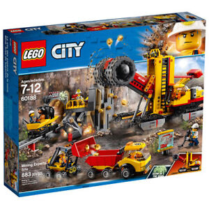 new sealed LEGO City: Mining Experts Site,  (60188)