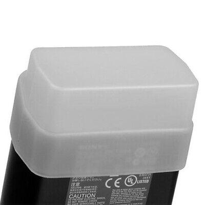 HR Omni-Bounce Flash Diffuser White Soft Box for Canon 380EX Metz 40 MZ2
