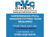 PVC Direct Coleraine require an experienced team of PVCu window and door fitters, must have own van.