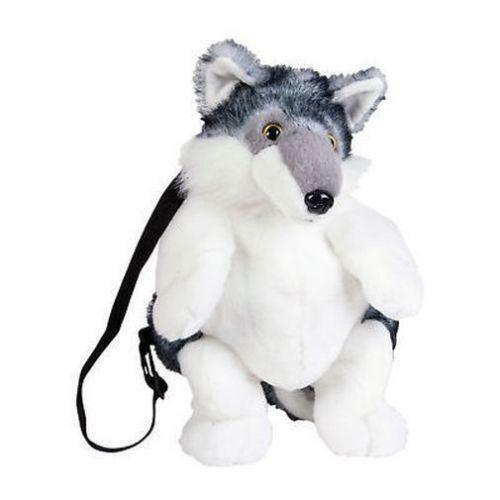 gray wolf stuffed animals ebay. Black Bedroom Furniture Sets. Home Design Ideas