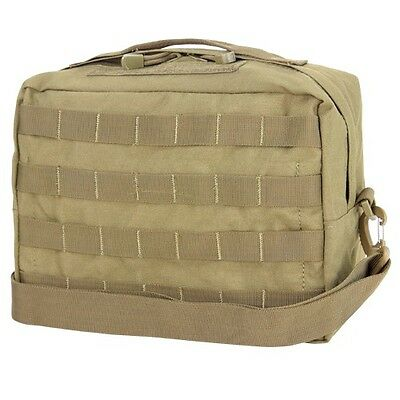 Condor 137 TAN Utility Shoulder Bag MOLLE PALS Modular Detach Shoulder Straps