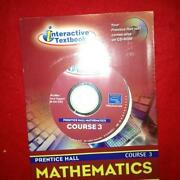 Prentice Hall Mathematics Course 3