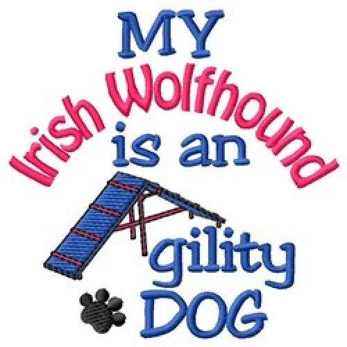 My Irish Wolfhound is An Agility Dog Sweatshirt - DC1810L Size S - XXL