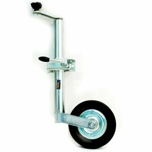 48MM-TELESCOPIC-TRAILER-CARAVAN-JOCKEY-WHEEL-WITH-CLAMP
