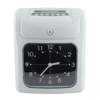 Time Clock For Employees Analogue Machine Punch In System Card Electronic (Time Clock Machines)