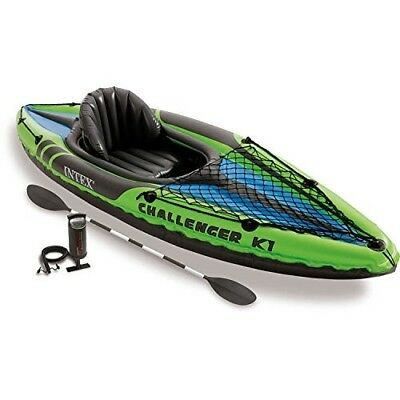 Best 1-Person Inflatable Kayak Set with Aluminum Oars and High Output Air