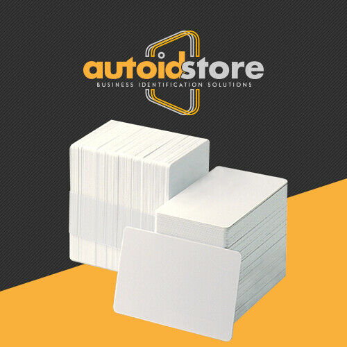 1000 Blank White PVC Cards - CR80, 30 Mil, Credit Card Size, ** Free Shipping **