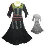 Boho Gypsy Maxi Dress