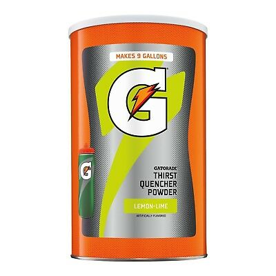 Gatorade Thirst Quencher Powder Lemon Lime 76.5 oz. 9 Gallons (1 Count)