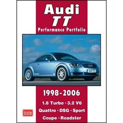 Audi TT Performance Portfolio 1998-2006 book paper car