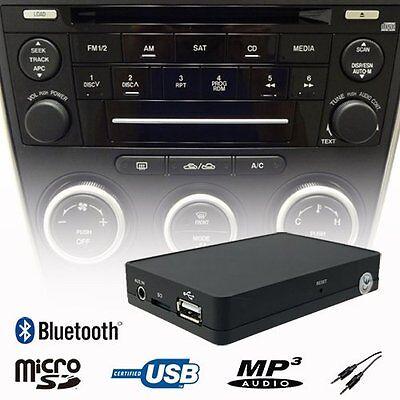 Car Bluetooth Handsfree A2DP MP3 CD Changer Adapter Mazda RX8 MX5 Miata CX7