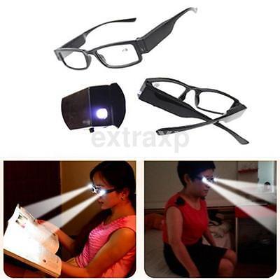 Practical LED Reading Eyeglasses Spectacle Diopter Magnifier Multi Light Up US](Light Up Eyeglasses)