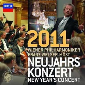 OVP NEU  2 CDs ♫ Neujahrskonzert 2011 ♫ WPO - Welser-Möst ♫ DECCA
