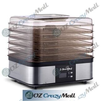 Five Tray LCD Display Food Dehydrator Drying System